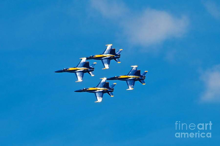 Blue Angels Photograph - Blue Angels 4 by Mark Dodd