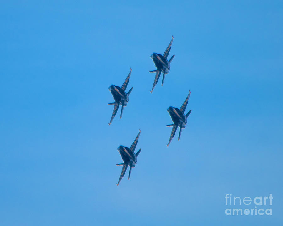 Blue Angels Photograph - Blue Angels 7 by Mark Dodd