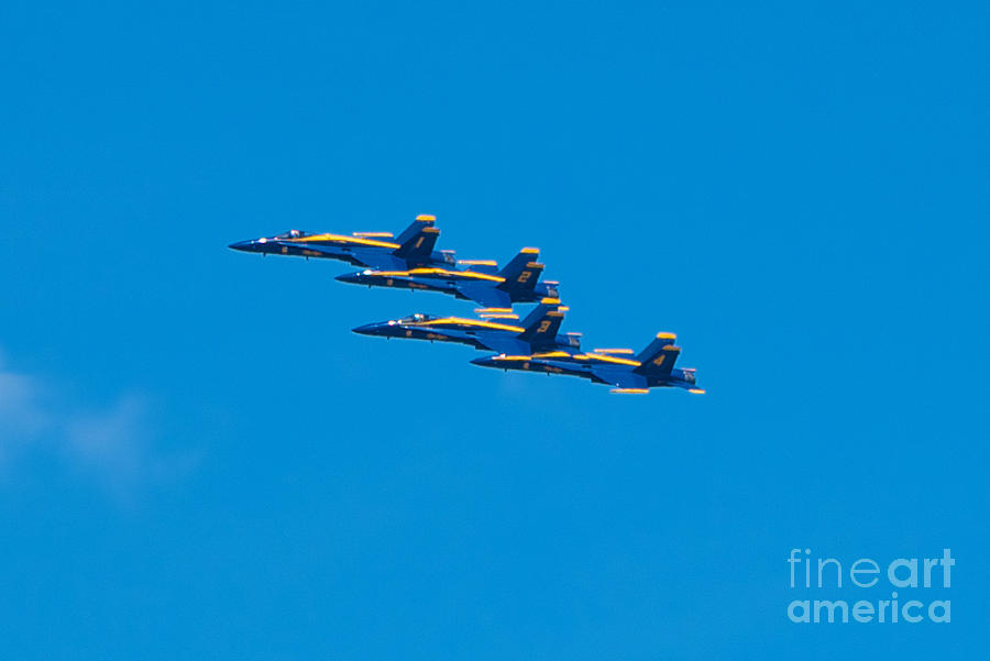 Blue Angels Photograph - Blue Angels by Mark Dodd