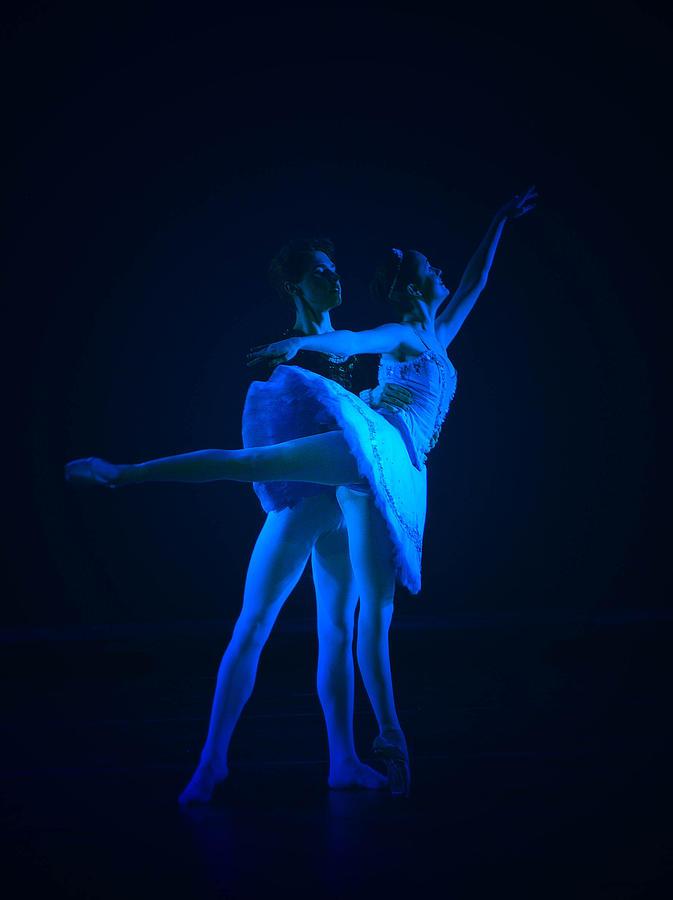 Dance Pyrography - Blue Ballet by Jenn Harris