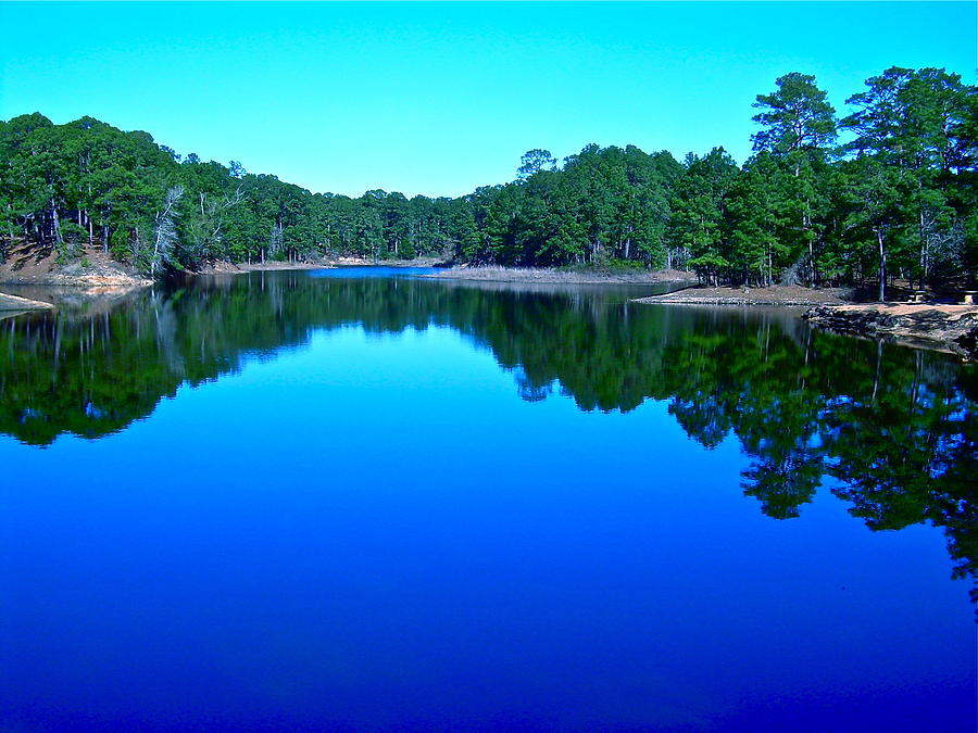 Lake Photograph - Blue Beauty by Frank SantAgata