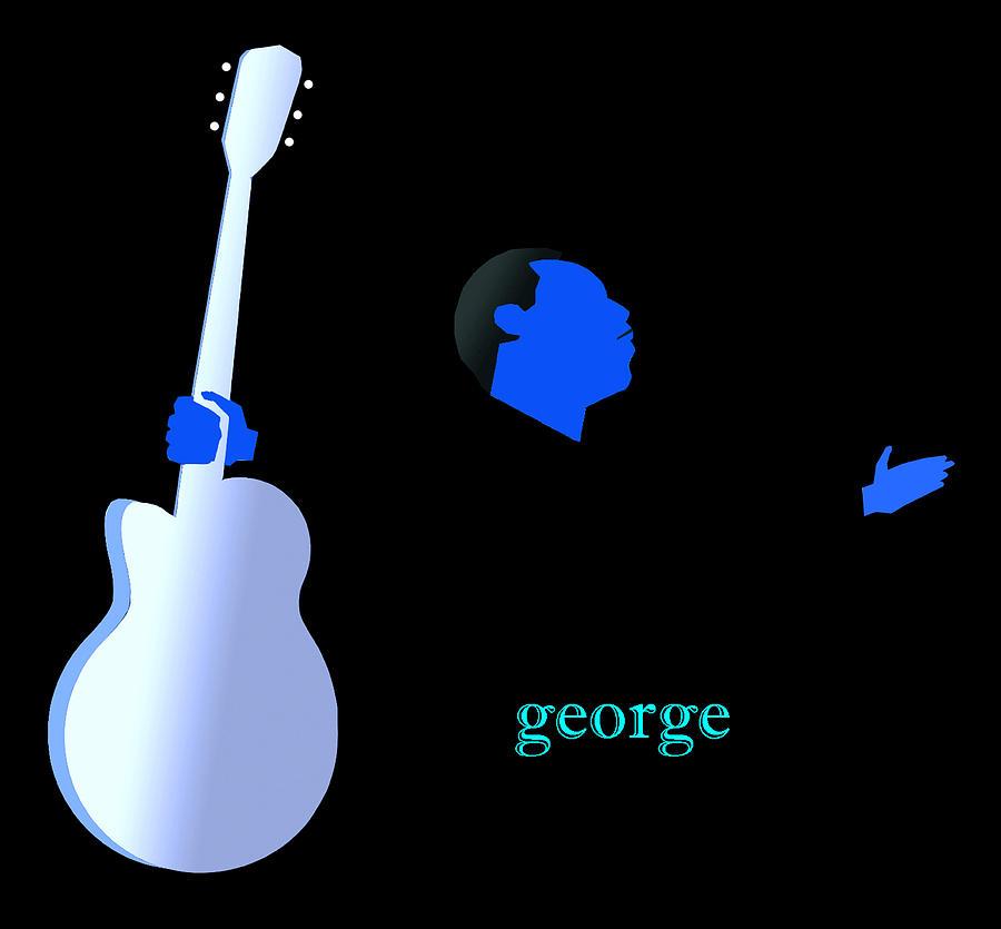 Jazz Digital Art - Blue Benson by Victor Bailey