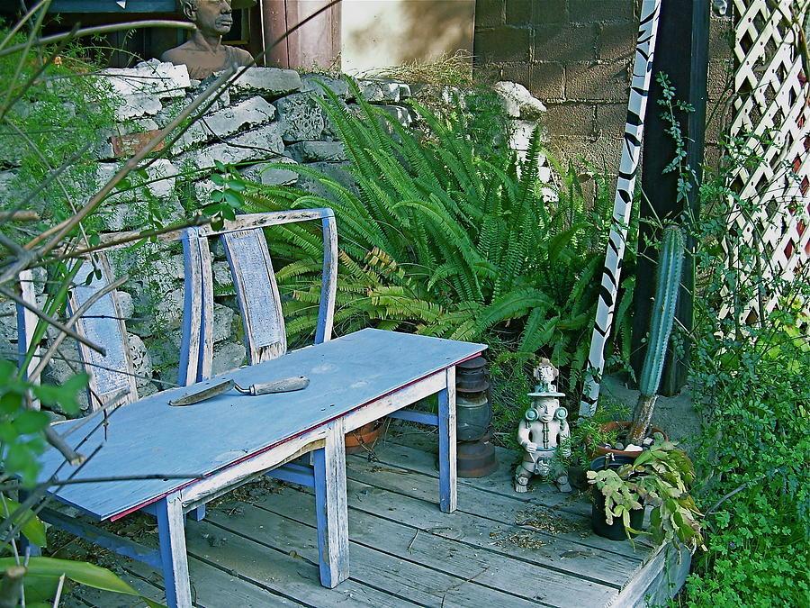 Blue Chair by Joseph Litzinger