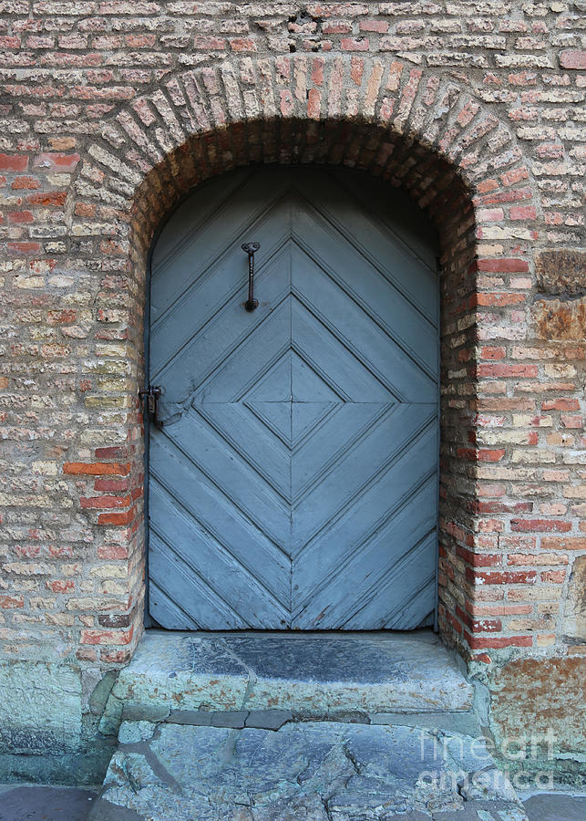 Door Photograph - Blue Door by Carol Groenen