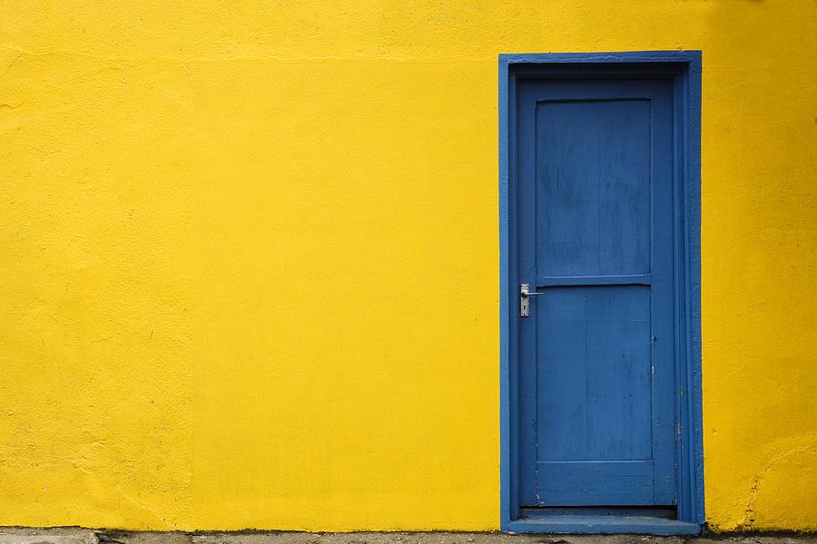 Blue Door Photograph By Joe Coca