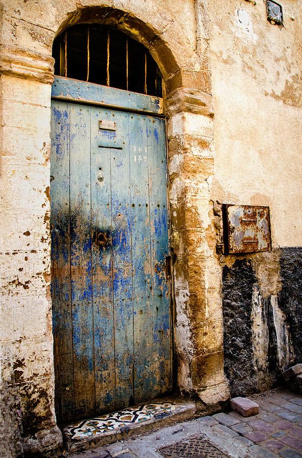 Doors Photograph - Blue Door by Marion McCristall