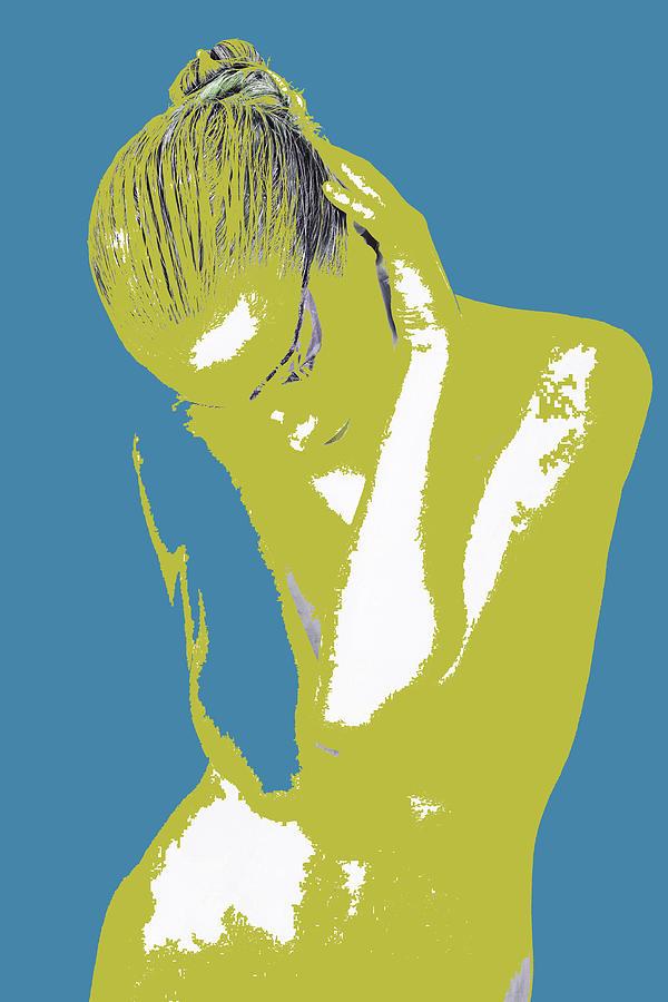 American Photograph - Blue Drama by Naxart Studio