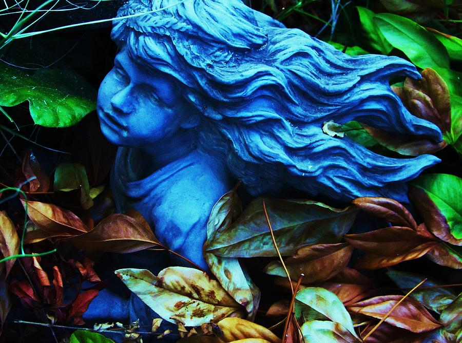 Abstract Landscape Photograph - Blue Girl by Todd Sherlock