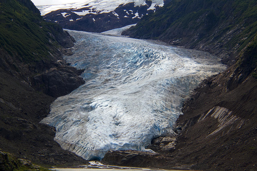Alaska Photograph - Blue Glacier by Kim French