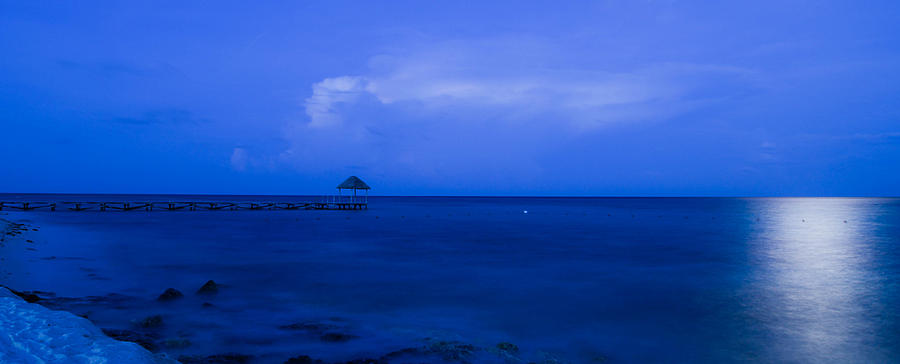 Sky Photograph - Blue by Guillermo Luengas