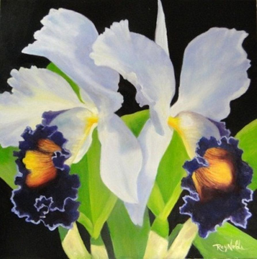 Orchid Painting - Blue Heaven by Carol Reynolds