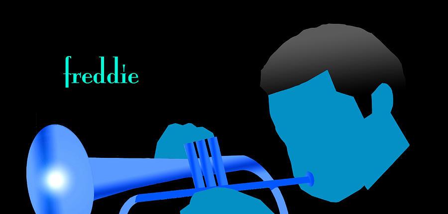 Blue Hub Digital Art by Victor Bailey