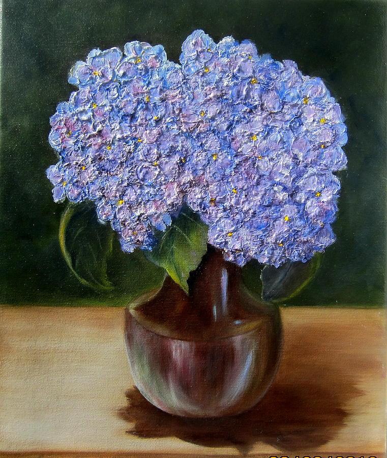 Blue Hydrangea  by Susan Dehlinger