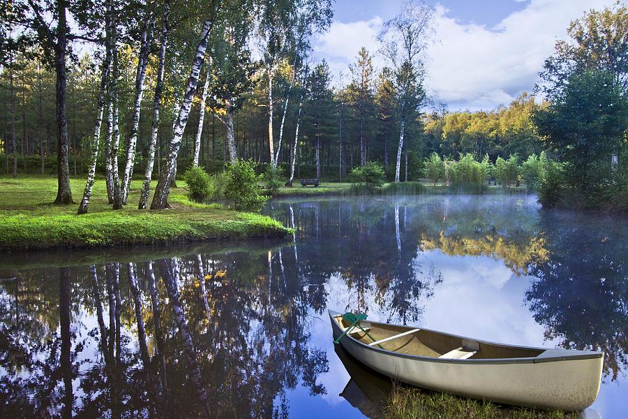 Austria Photograph - Blue Lake by Debra and Dave Vanderlaan