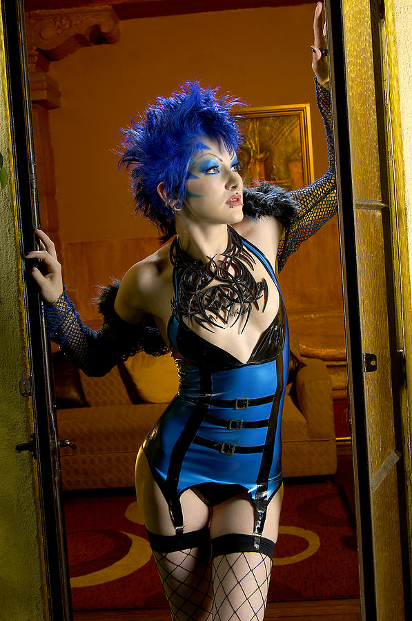 Latex Photograph - Blue Lullaby by Adam Chilson