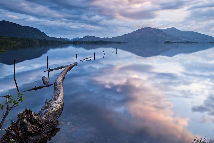 Killarney Photograph - Blue Moment by Brendan O Neill