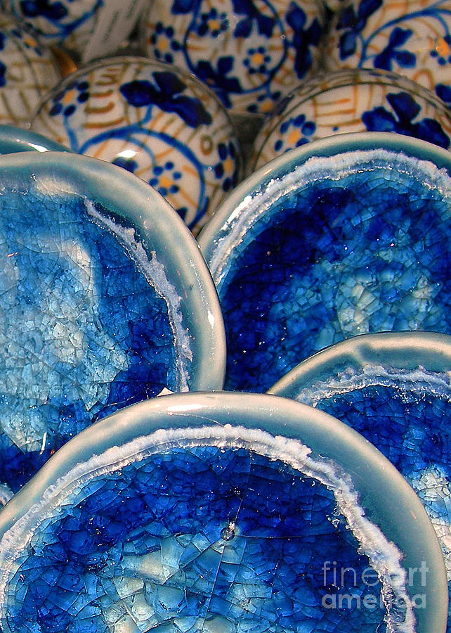 Doorknobs Photograph - Blue On Blue by Judi Bagwell