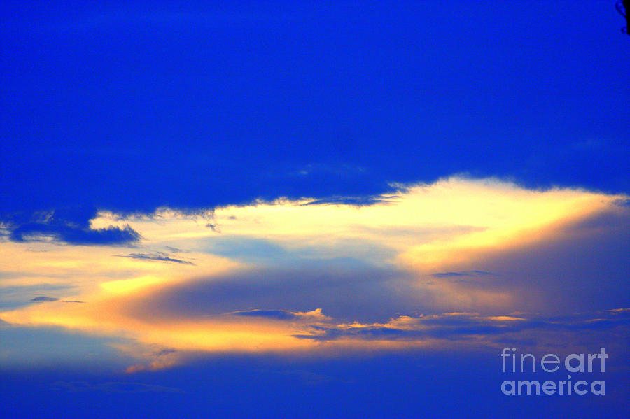 Skys Photograph - Blue Skys by Bret Worrell
