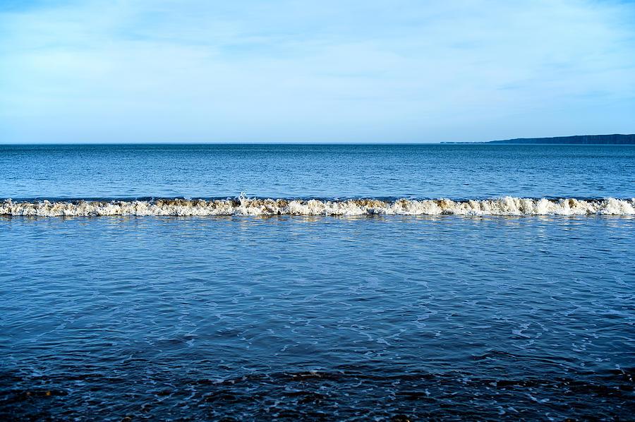 Bay Photograph - Blue by Svetlana Sewell