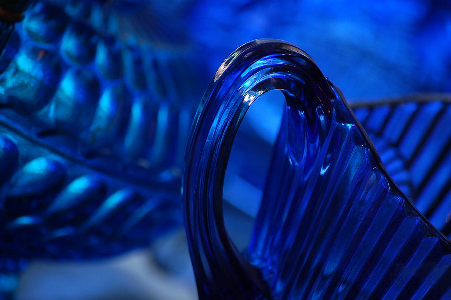 Blue Photograph - Blue Wave by Eamon Forslund