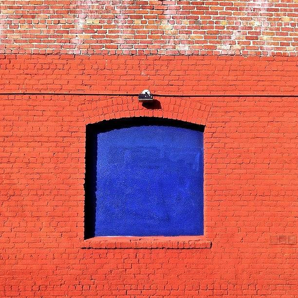 Sanfrancisco Photograph - Blue Window by Julie Gebhardt