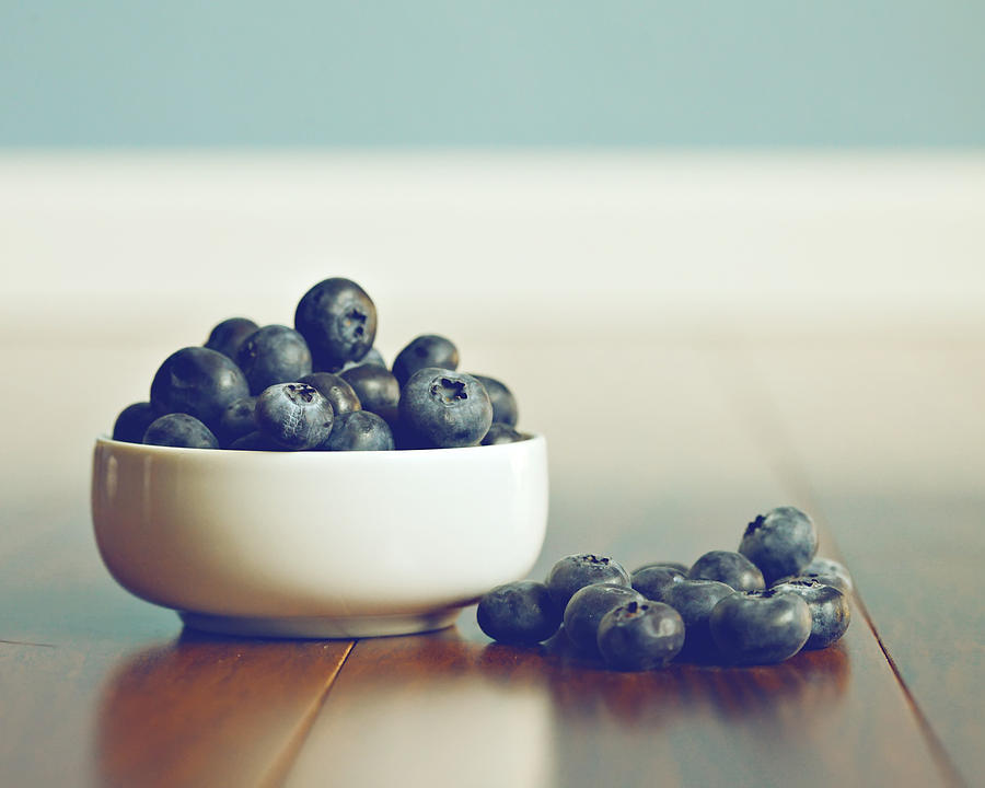 Blueberries Photograph - Blueberry Harvest by Amelia Matarazzo