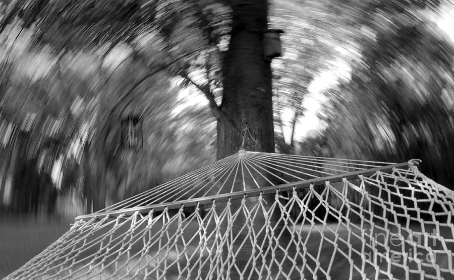 Hammock Photograph - Blurry Still by Scott Allison