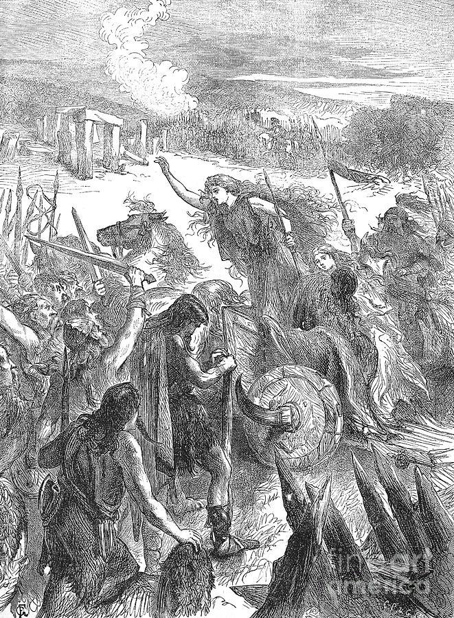 1st Century Photograph - Boadicea (d. 62 A.d.) by Granger