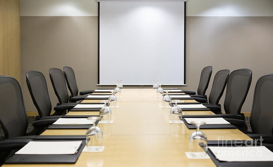 Board Room Photograph - Boardroom by Andersen Ross