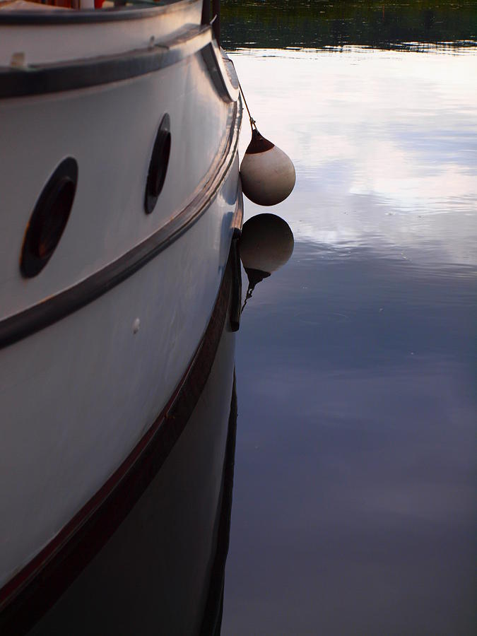 Marine Photograph - Boat At Rest 1 by Jim Moore