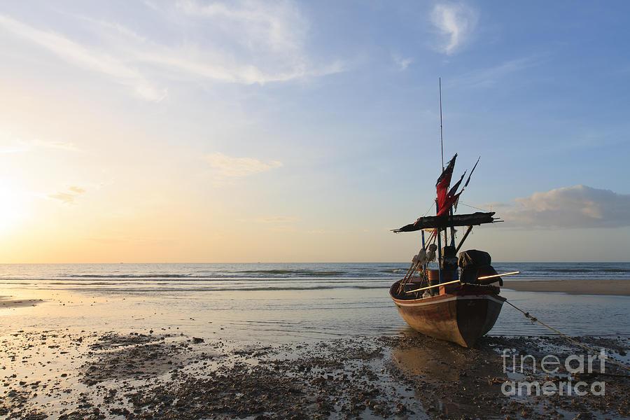 Asia Photograph - Boat by Buchachon Petthanya