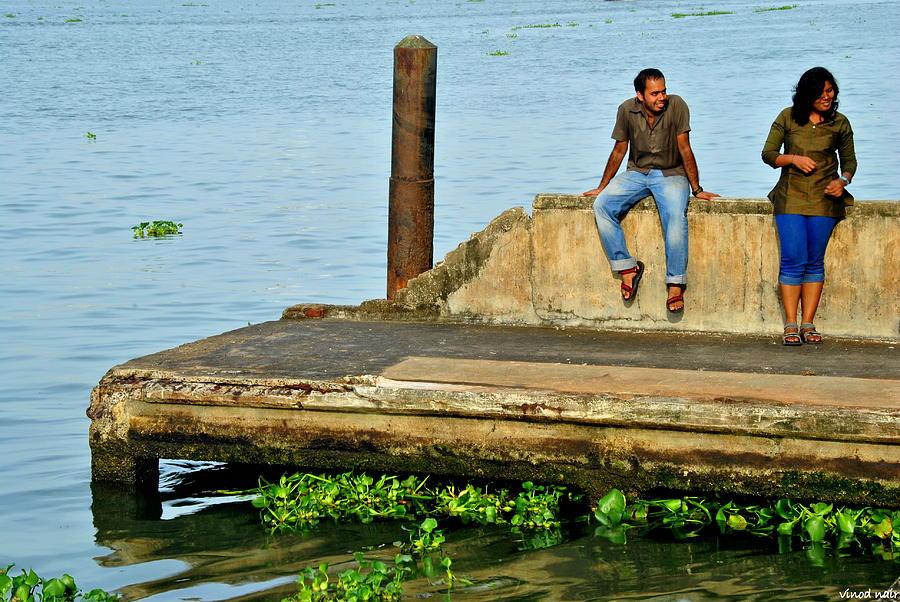 Boat Jetty Photograph by Vinod Nair