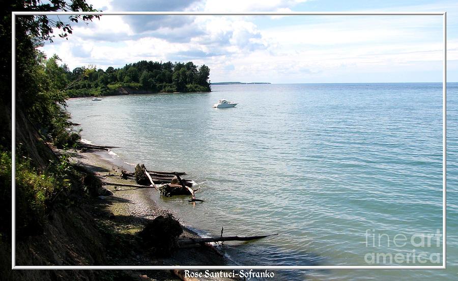 Lake Ontario Photograph - Boat On Lake Ontario by Rose Santuci-Sofranko