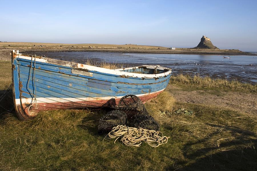 Boat On Shore, Near Holy Island, England is a photograph by John Short ...