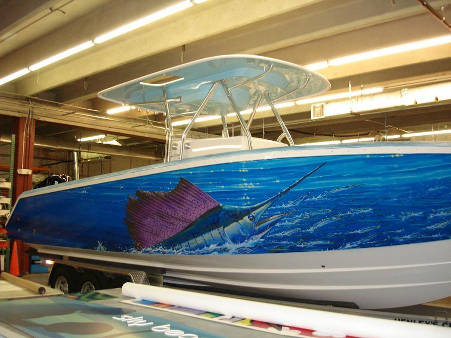 Boat Wrap Digital Art - Boat Wrap by Carey Chen