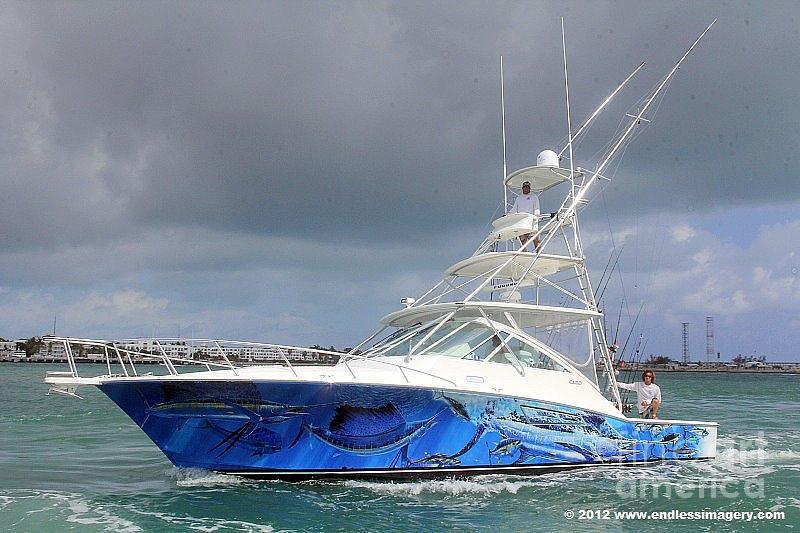 Boat Wrap Digital Art - Boat Wrap On Cabo by Carey Chen
