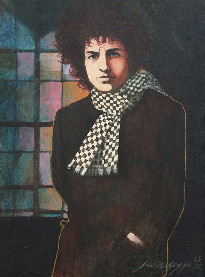 Bob Dylan Painting - Bob Dylan by J W Kelly