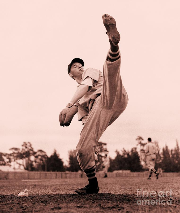 Pd Photograph - Bob Feller by Roberto Prusso