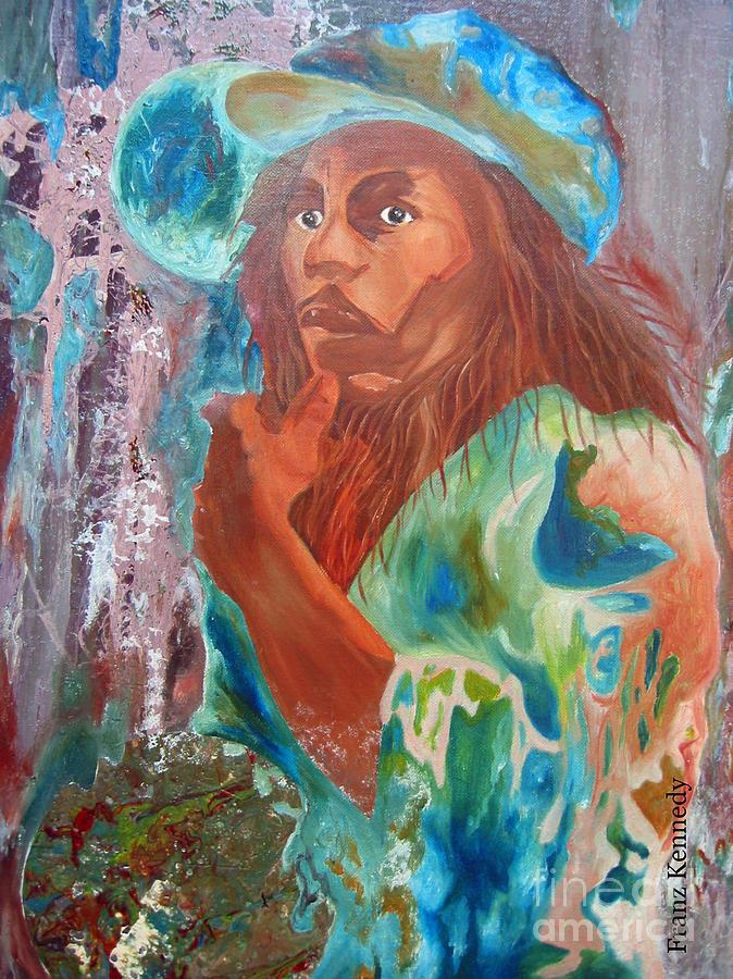 Bob Marley Painting - Bob Marley by Kennedy Franz