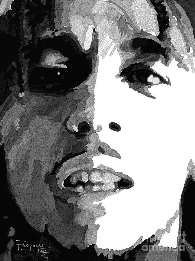 Celebrities Digital Art - Bob by Patrizio Farinacci