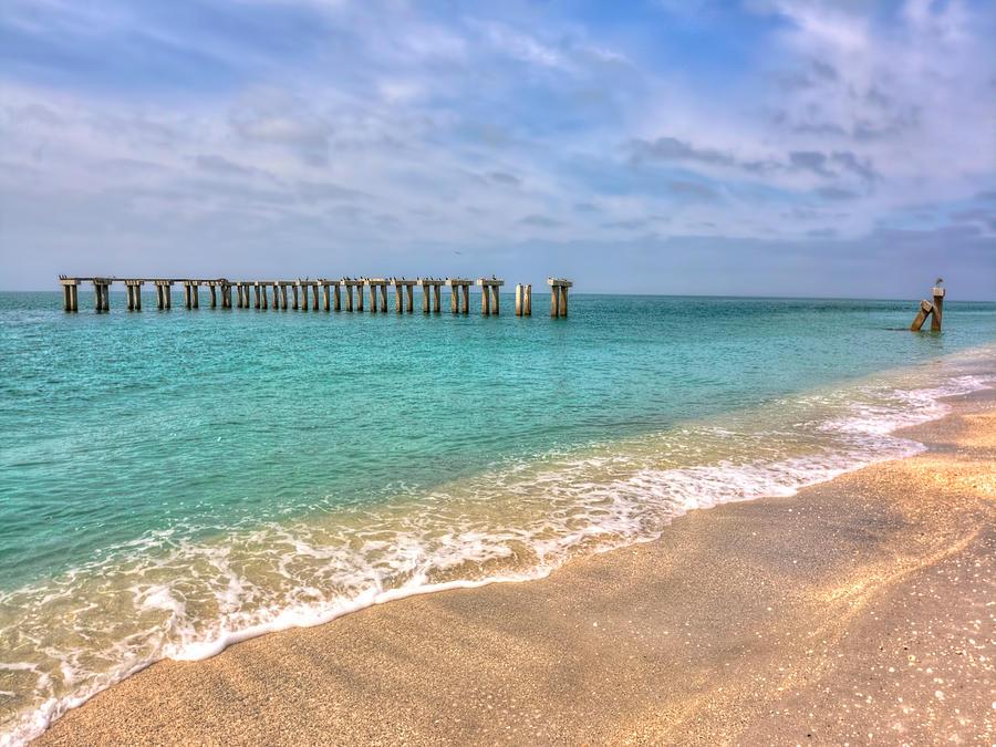 Florida Photograph - Boca Grande Broken Bridge by Jenny Ellen Photography