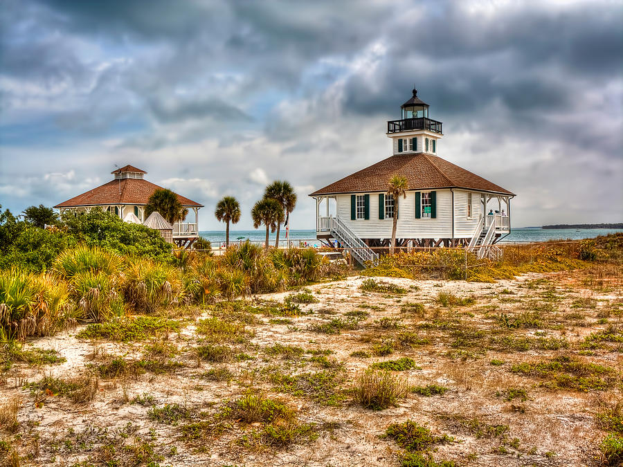 Boca Photograph - Boca Grande Lighthouse by Jenny Ellen Photography