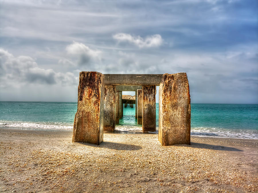 Florida Photograph - Boca Grande Ruins In Paradise by Jenny Ellen Photography