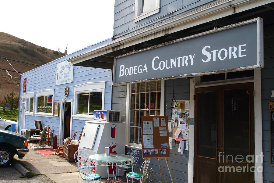 Store Photograph - Bodega Country Store . Bodega Bay . Town Of Bodega . California . 7d12452 by Wingsdomain Art and Photography