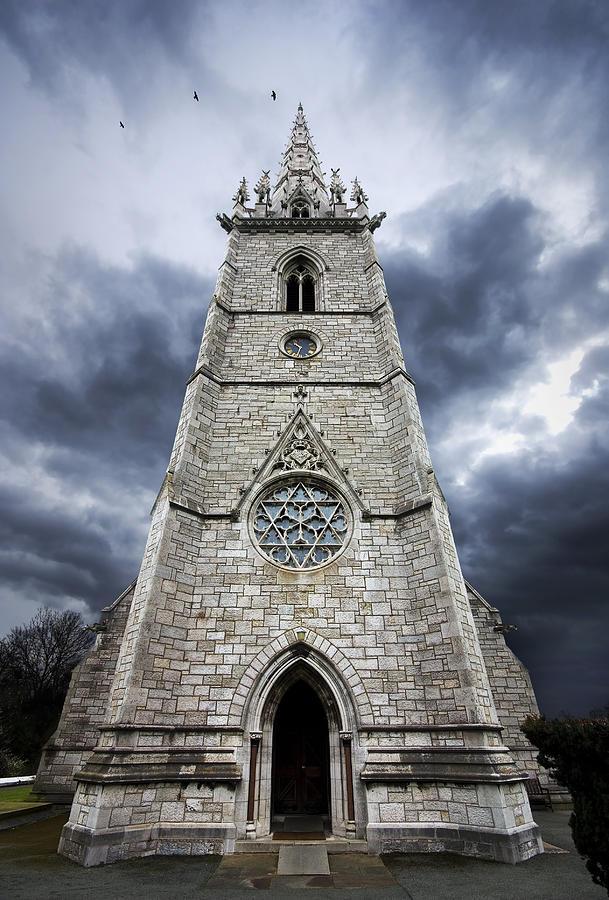 Church Photograph - Bodelwyddan Church by Meirion Matthias