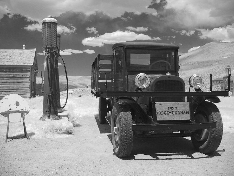 Old Photograph - Bodie California - A Trip Back In Time by Christine Till