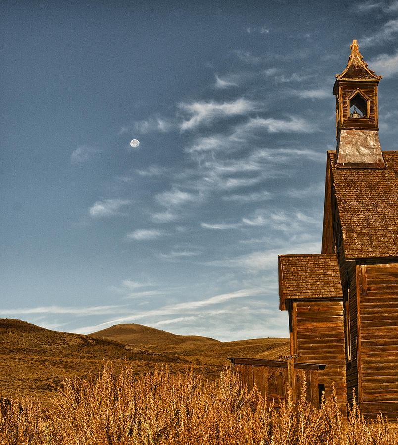California Photograph - Bodie California Church by Al Reiner