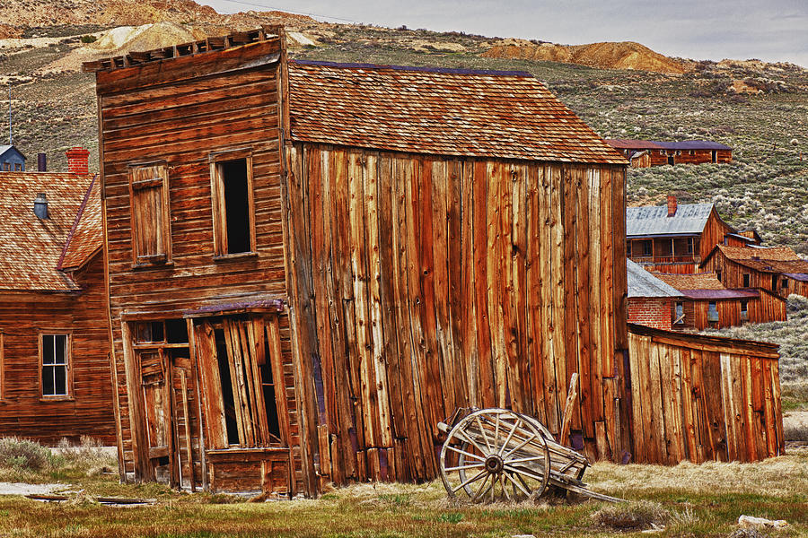 Bodie Photograph - Bodie Ghost Town by Garry Gay