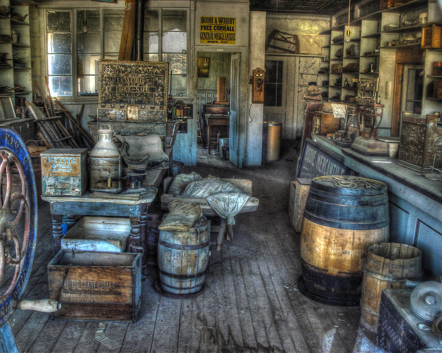 Bodie State Historic Park Photograph - Bodie State Historic Park California General Store by Scott McGuire