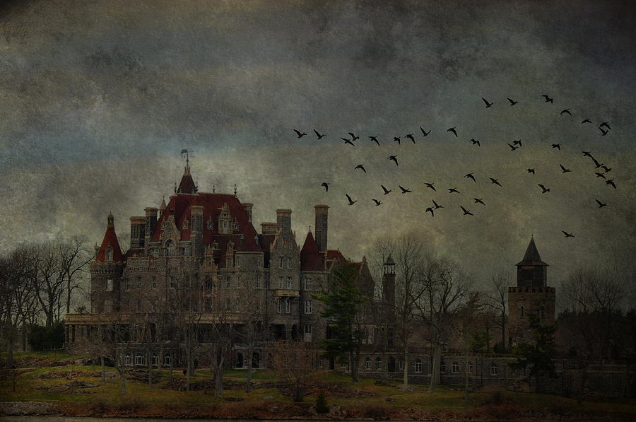 Boldt Castle Photograph - Boldt In Flight by Emily Stauring
